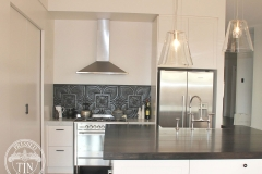 Alexandria - Kitchen Splashback - Black