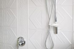 Pressed Tin Panels bondi bathroom mercury silver
