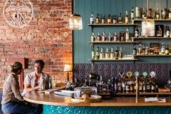 Spades pattern - Buck Mulligan's Bar Splashback