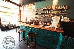 Spades pattern - Buck Mulligan's Bar & Splashback