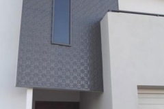 Exterior Feature Wall in Original pattern