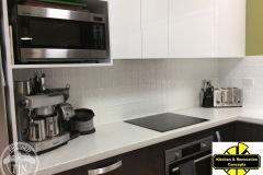 Mudgee - Kitchen Splashback & Counter -Classic White