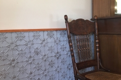 Original pattern - dado feature wall
