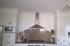 Original - Kitchen Wall -White Satin