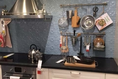 Original pattern - Horizon Blue-IKEA Kitchen Splashback Display
