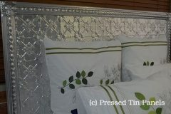 Pressed Tin Panels Original Bed Head
