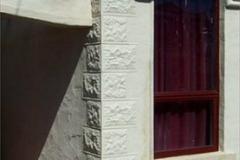 Pressed Tin Panels - Sandstone Corner Key Stone - Exterior Cladding
