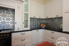 Snowflakes Kitchen Splashback
