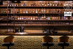 Snowflakes - Gold Bar Front & Splashback - Society Salamanca