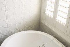 PressedTinPanelsTulip Shoji White Bathroom