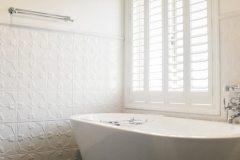Tulip Shoji White Bathroom Wall