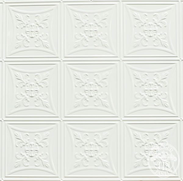 Abercrombie in Classic White Powder Coat