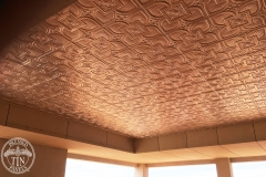 Alexandria design featured on outdoor ceiling