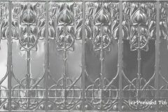 Art Nouveau full panel 922mm x 1837mm approx