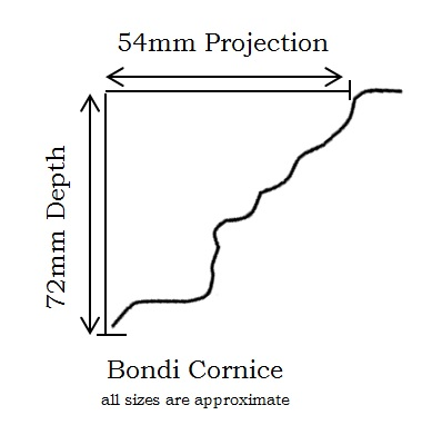how to cut pressed tin cornice