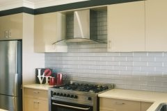 Brick splashback