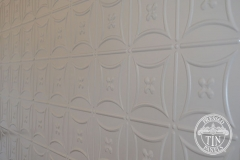 Pressed Tin Panels Carnivale Feature Wall Platypus Kinetic Pearl  Powder Coat Length