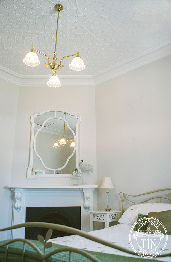 Clover - Bedroom Room Ceilings Online at Pressed Tin Panels
