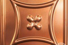 Copper Carnivale Pattern Repeat