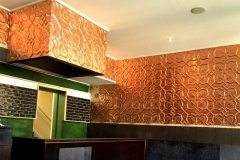 Installed example of Shield Copper at 5 Points Deli-Melbourne