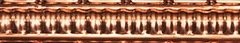 Copper Small Grate Cornice Full Length 1840mm approx.
