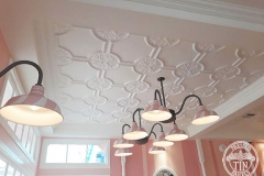 Pressed Tin Panels Temora Ceiling- Dreamworld Ice Cream Parlour  Full