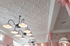 Pressed Tin Panels Temora Ceiling- Dreamworld Ice Cream Parlour Section
