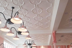 Pressed Tin Panels Temora Ceiling- Dreamworld Ice Cream Parlour Light