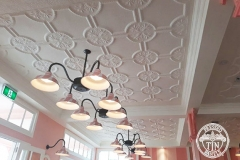 Pressed Tin Panels Temora Ceiling- Dreamworld Ice Cream Parlour Length