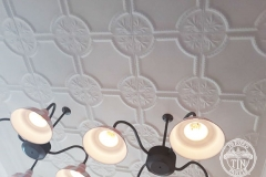 Pressed Tin Panels Temora Ceiling- Dreamworld Ice Cream Parlour Close