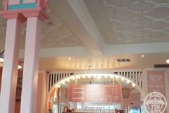 Pressed Tin Panels Temora Ceiling- Dreamworld Ice Cream Parlour Counter