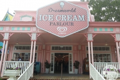 Pressed Tin Panels Temora Ceiling- Dreamworld Ice Cream Parlour Shop Front