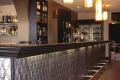 Alchemy Bar & Restaurant using the Fish Scale Panel in their Bar