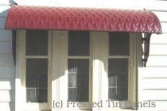 Fish Scale Awning installed example