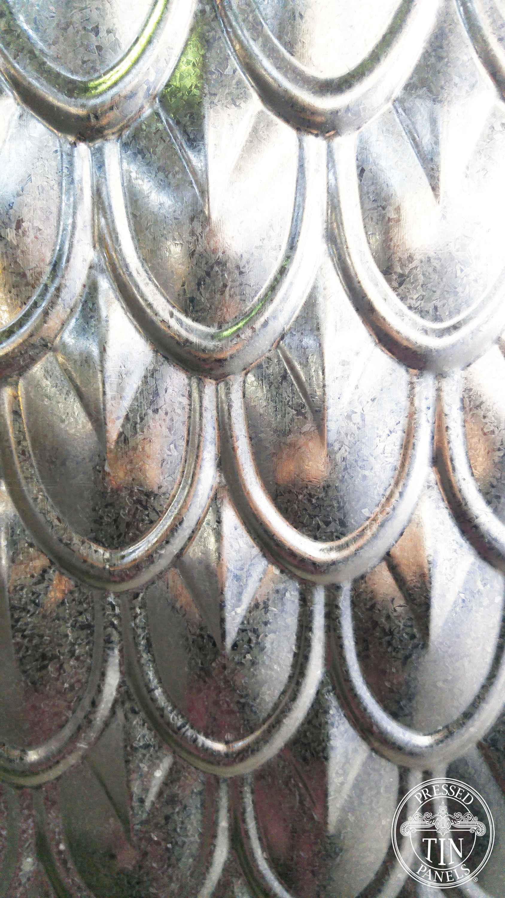 Fish Scale Galvanised section