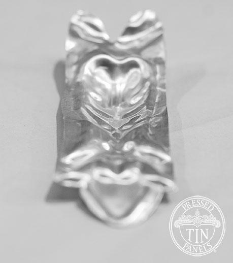 Pressed Tin Panels Gallipoli Rose Internal Cornice Leaf Profile