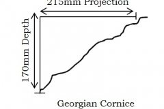 Georgian Cornice profile information