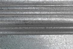 Large Plain Border Galvanised
