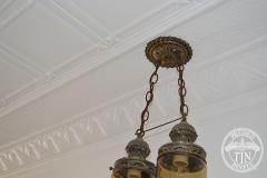 Pressed Tin Panels Maddington Ceiling, Small Rough Cast and Macquarie Cornice
