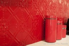 Pressed Tin Panels Maze Splashback