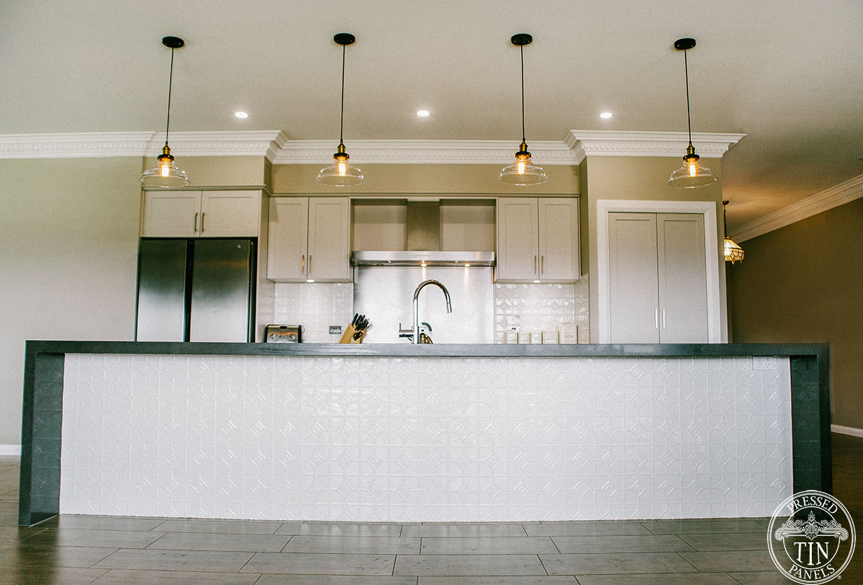 Pressed Tin Panels Mudgee Kitchen Splashback Amp Island