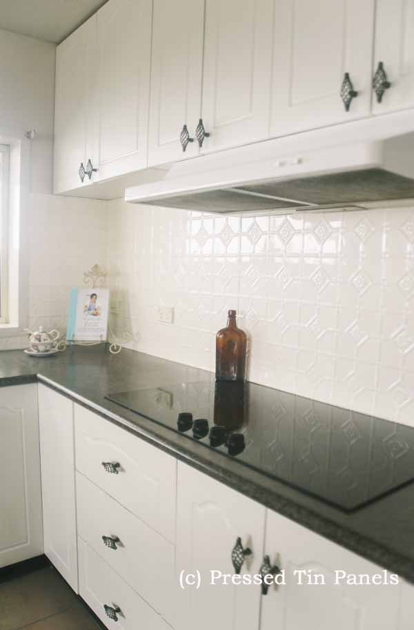 White Kitchen Splashback mudgee kitchen splashback - white birch