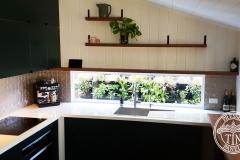 Pressed Tin Panels Mudgee Kitchen Splashback Copper Kinetic Pearl Window