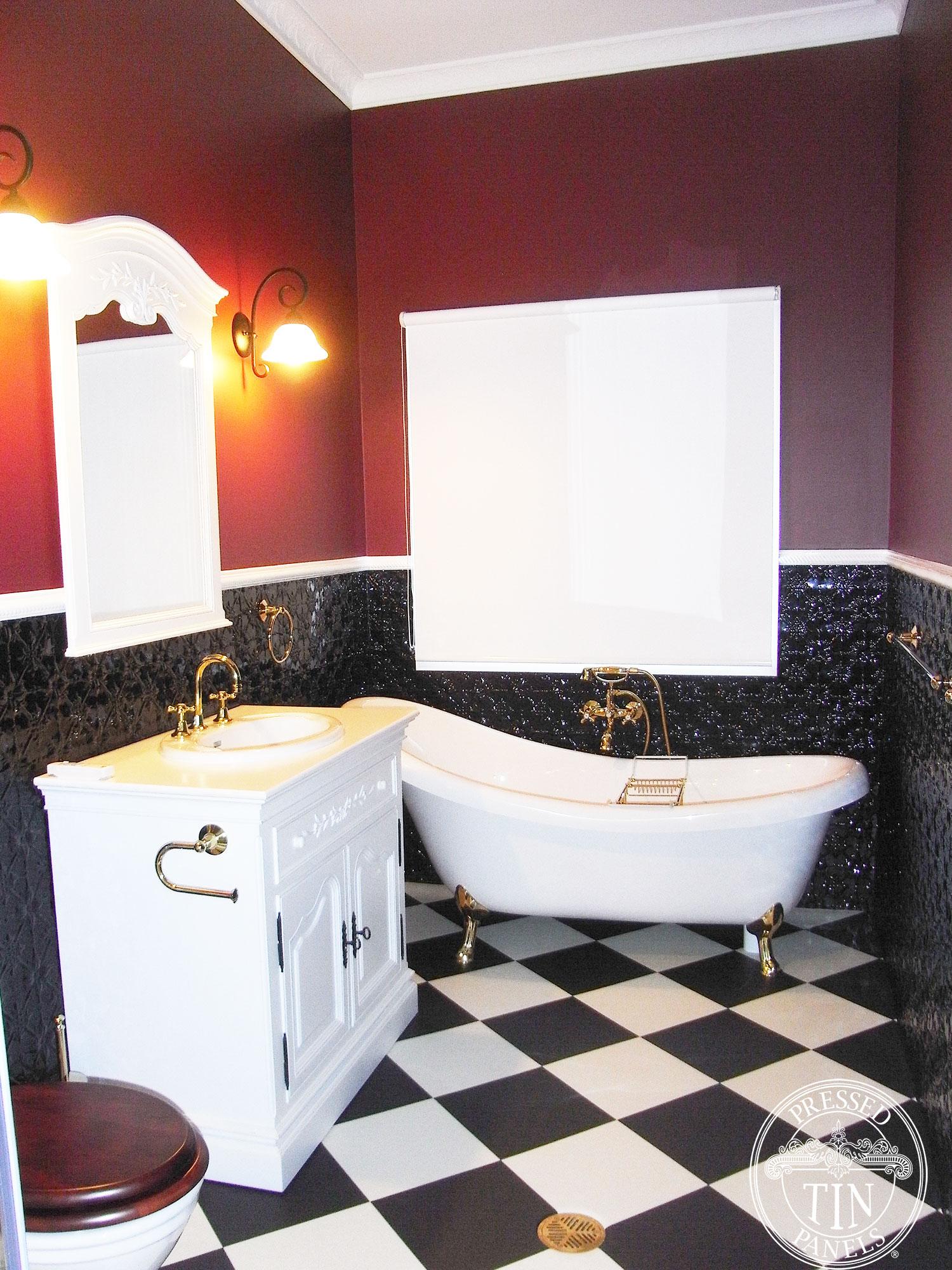 Buy Original Black Amp White Bathroom Online At Pressed