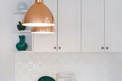 White is a wonderful crisp colour for the kitchen
