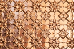 Pressed Tin Panels Original Panel In Copper