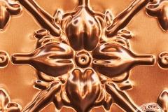 Pattern repeat Original Panel In Copper