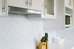 Original Kitchen Splash Back- Pearl White