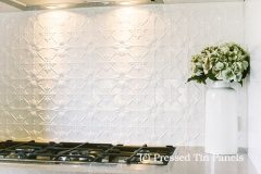 Original Kitchen Splash Back- Pearl White