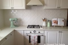Original Kitchen Splash Back- Shoji White